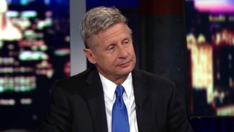 Presidential candidate Gary Johnson on his White House bid