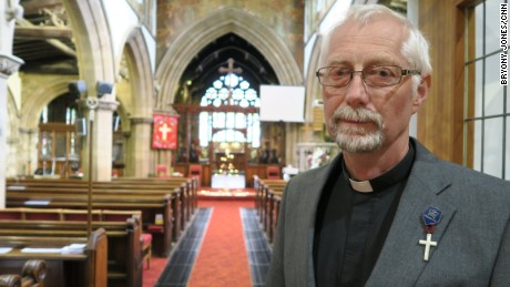 "Local vicar Paul Knight says Jo Cox was ""fiery, and she was determined to make a difference."""