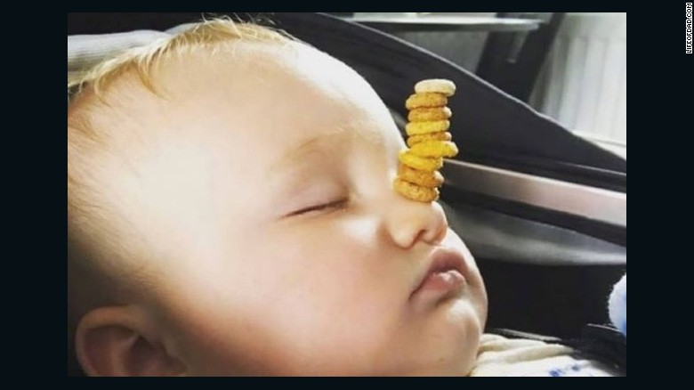 #CheerioChallenge puts dads on notice