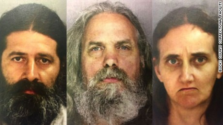 Daniel Stoltzfus, Lee Kaplan and Savilla Stoltzfus have been arrested.