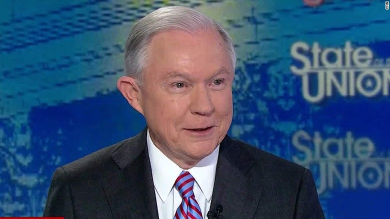 Sen. Sessions: I haven't discussed VP with Trump