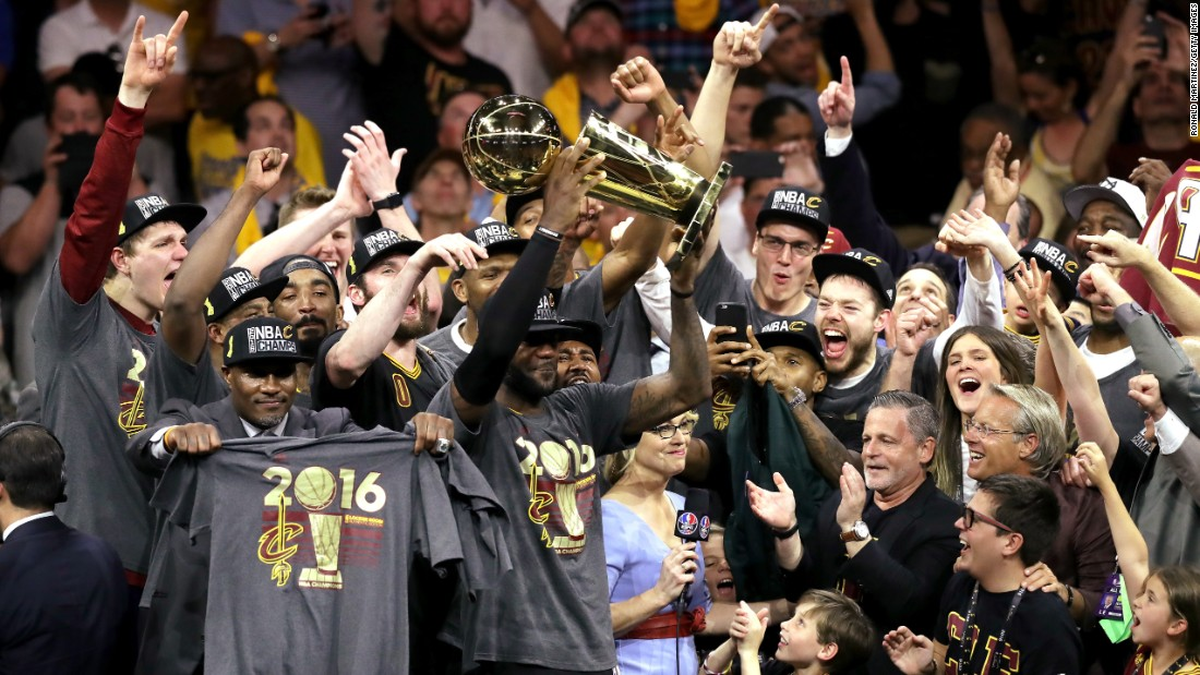 Cavs' title ends 52 years of Cleveland sports agony - CNN