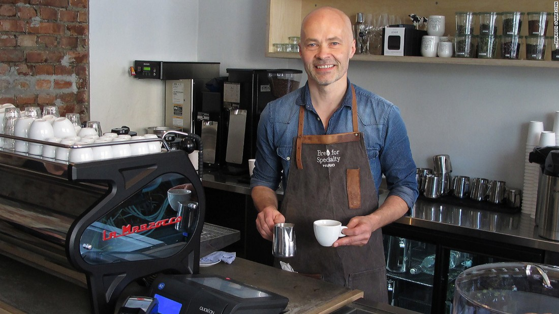 At Oslo cafe-roastery Supreme Roastworks customers can have your coffee prepared by Odd-Steinar Tollefsen, the 2015 World Brewers Cup champion.