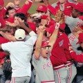 05 longest championship droughts Cincinnati Reds