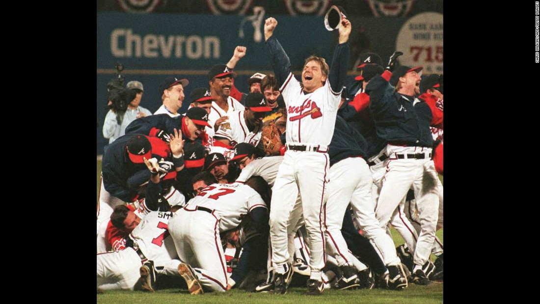 <strong>Atlanta:</strong> The Atlanta Braves have not brought home the Commissioner's Trophy since 1995, when they defeated the Cleveland Indians. Omitting the strike-shortened 1994 season, this was during a run of 14 straight division titles that saw them make the World Series five times. The city has twice seen lackluster hockey teams shipped to Canada, the Falcons have been to the Super Bowl exactly once, and the Hawks haven't won an NBA title since they were in St. Louis. That was 1958.