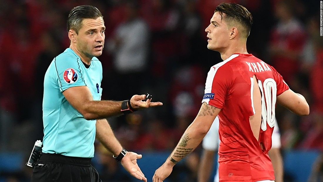 "Granit Xhaka made headlines at Euro 2016 <a href=""http://cnn.com/2016/06/20/football/shaquiri-switzerland-football-shirts-puma-condoms/"" target=""_blank"">when his shirt ripped</a> -- before the tournament the Switzerland midfielder had already secured a move to English club Arsenal from Borussia Monchengladbach in a deal worth a reported £30 million ($39.2 million)."
