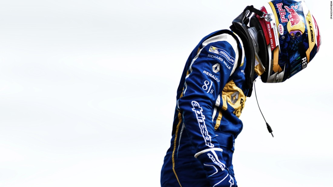 Renault e.Dams driver Buemi (pictured) has been involved in a fierce tussle with championship leader Lucas di Grassi.