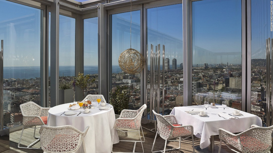 Rooftop eateries can sometimes coast on mediocre food -- but not Dos Cielos. The Michelin-star restaurant dishes out some of the most innovative cuisine in Barcelona.
