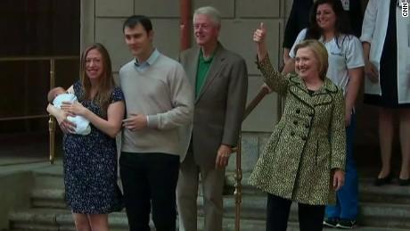 Chelsea Clinton gives birth boy _00004810