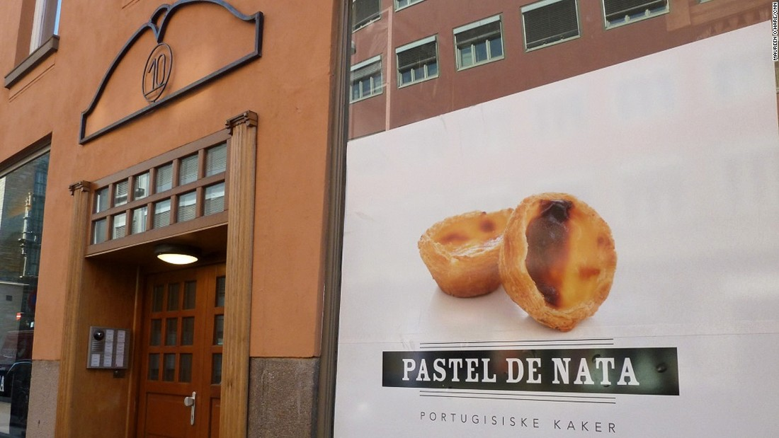 Portuguese cafe Pastel de Nata is TripAdvisor users' favorite coffee spot in Olso. The shop is named for Portugal's classic egg tarts.
