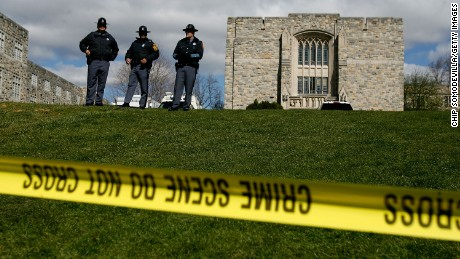 On the Virginia Tech campus in Blacksburg, a 23-year-old student went on a shooting spree, killing 32 people in two locations and wounding many others before committing suicide.