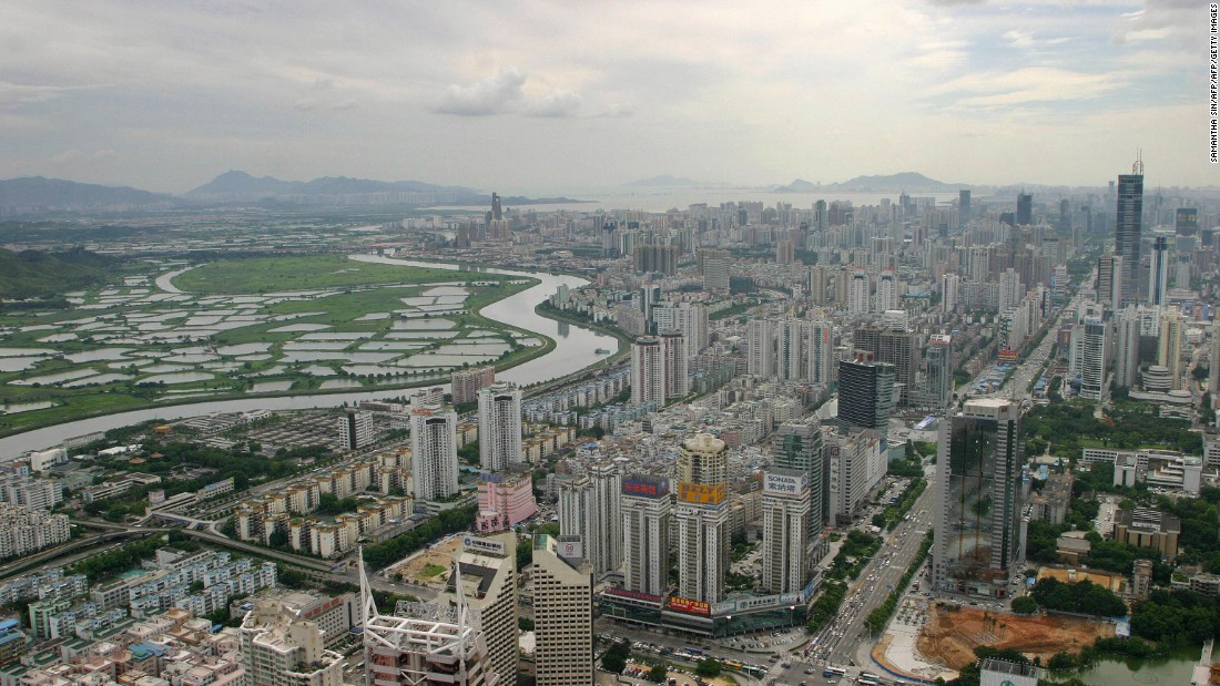 Originally a small fishing village of around 30,000 people, Shenzhen's rapid growth began in 1980, when it was designated one of five special economic zones in China by the nation's then leader, Deng Xiaoping.