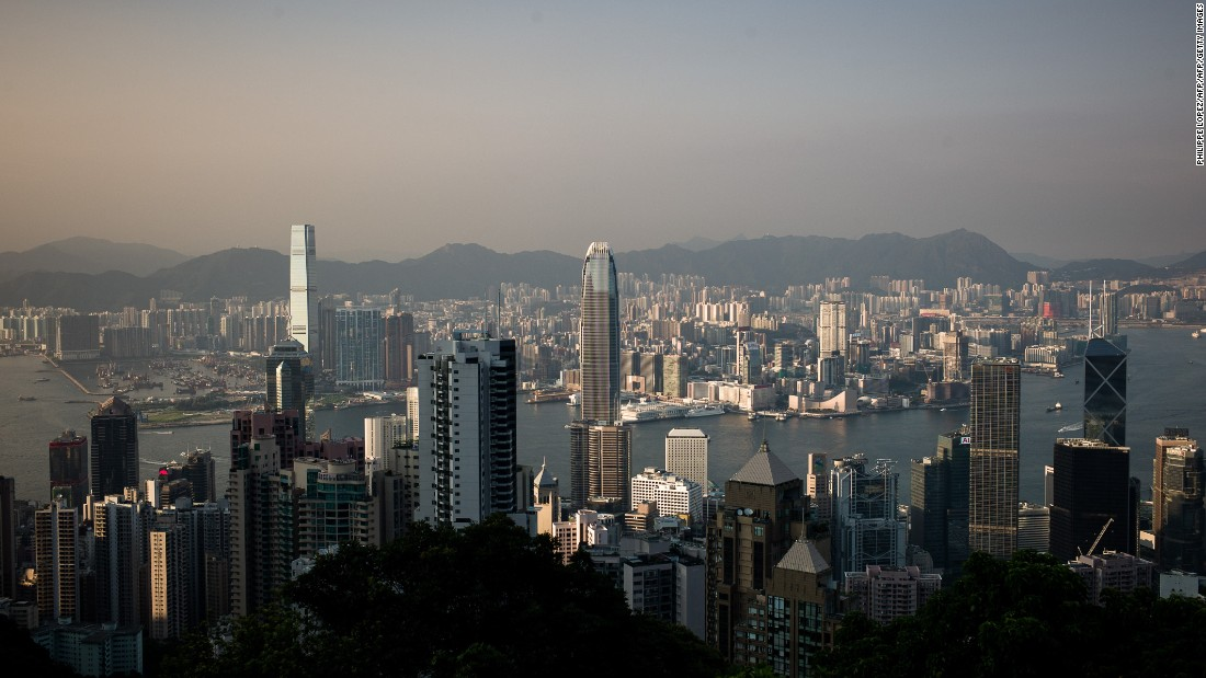 Hong Kong has grown rapidly over the past thirty years with the city's proximity to China and strong rule of law helping transform it into a world financial and commerce hub.