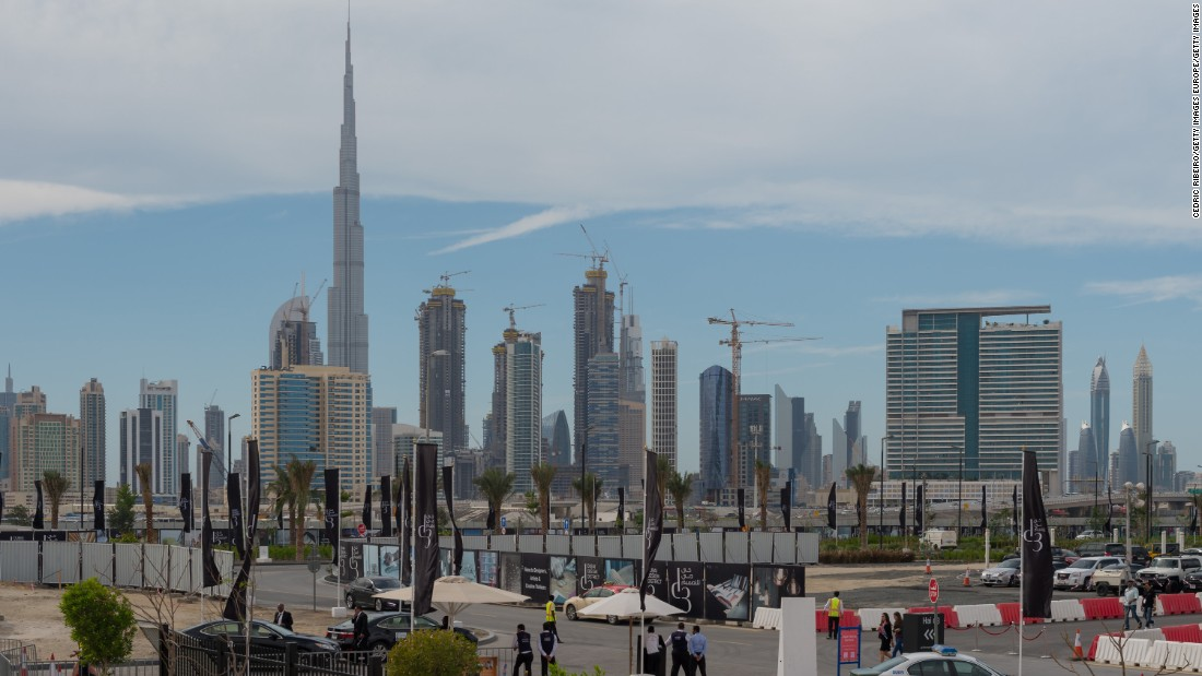 Dubai has positioned itself as a regional business and tourism hub and the city is currently home to the world's tallest building, the Burj Khalifa.