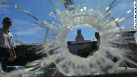 What has changed since the first modern mass shooting 50 years ago?