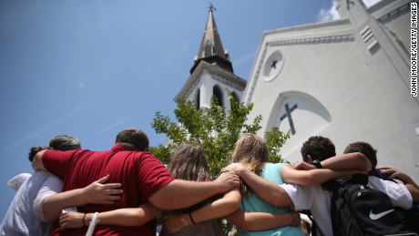 Nine churchgoers, all African-American, were shot by a young, white man who entered their Charleston, South Carolina, church, joined their Bible study for an hour and then opened fire.