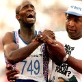 Derek Redmond crying runner
