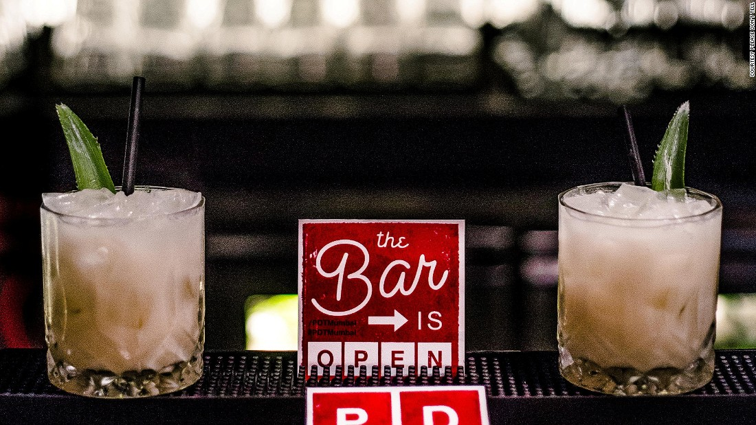 Bartenders at Please Don't Tell serve up bespoke cocktails. Tell them your favorite spirit and they'll find a drink to match your mood.