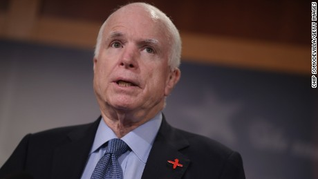 John McCain criticizes Trump's feud with Muslim family