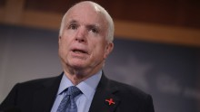 McCain 'almost speechless' over Trump comments