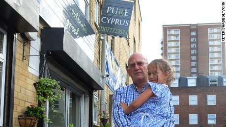 "Pure Cyprus: ""If Britain leaves the EU, it'll be brilliant,"" says Elias Solomou."