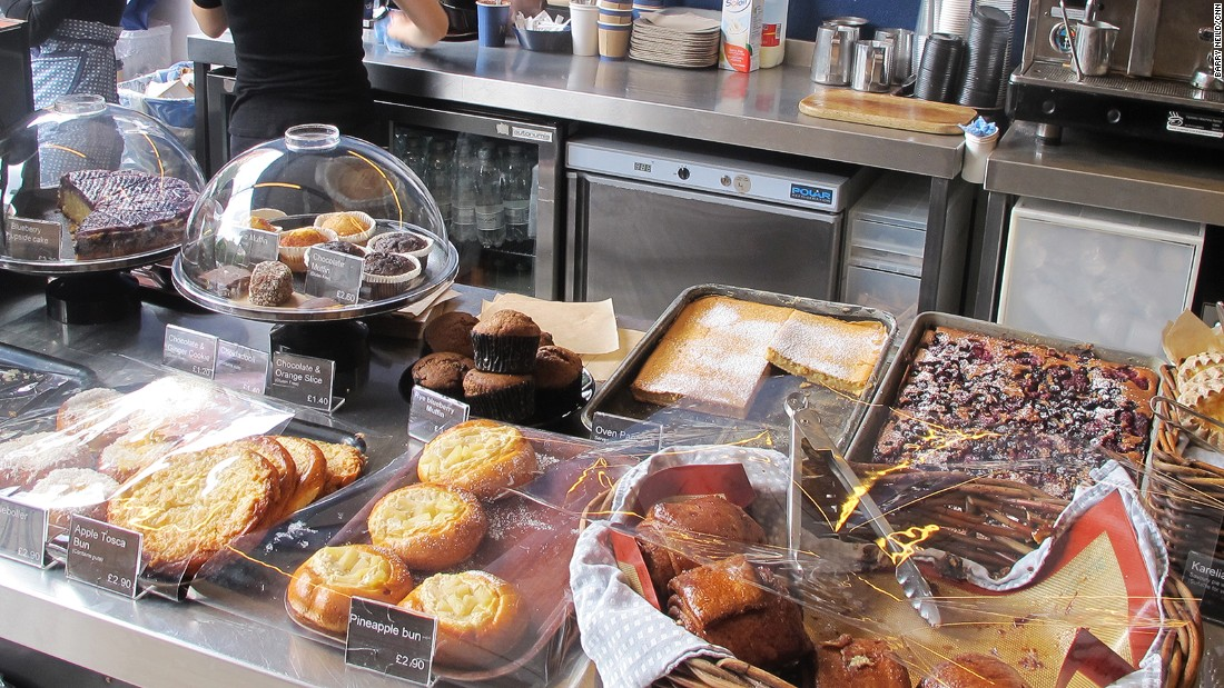 "The <a href=""http://nordicbakery.com/"" target=""_blank"">Nordic Bakery</a> offers a cinnamon-scented oasis of northern European calm in the bustling heart of London's central Soho district."