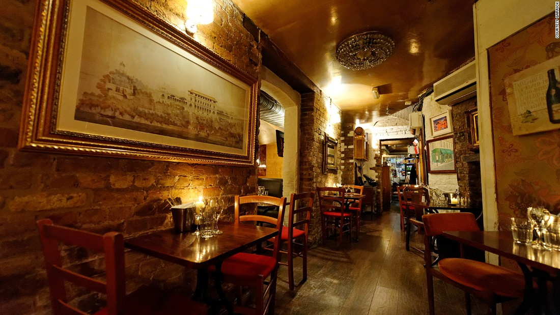 "In the heart of London's theaterland, <a href=""http://www.balticrestaurant.co.uk/"" target=""_blank"">Le Garrick</a> has been serving French classics to regulars and tourists for several decades."