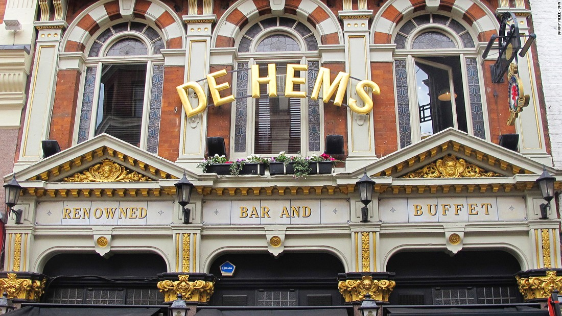 "A slice of the Netherlands in, confusingly, Chinatown, <a href=""http://www.nicholsonspubs.co.uk/restaurants/london/dehemsdutchcafebarsoholondon"" target=""_blank"">De Hems</a> serves Dutch beer and food including fried cheese parcels."