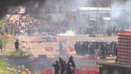 cnnee pkg rey rodriguez cnte protesta desalojo nochixtlan oaxaca cdmx_00003229