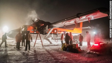 Risky medical flight from South Pole arrives in Chile