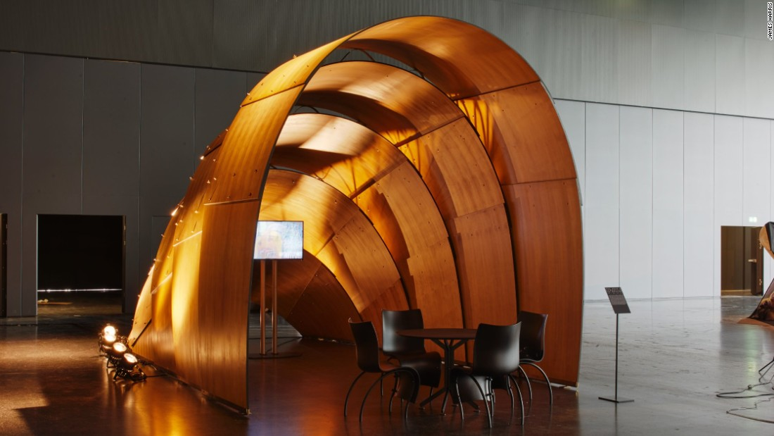 Ron Arad's Armadillo Tea Pavilion, presented by Revolution Precrafted Properties