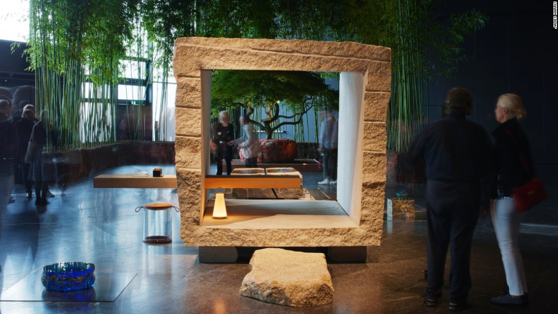 "Masatoshi Izumi and Koichi Hara's ""Stone Tea House Meditative Alcove"", presented by Gallery Japonesque"