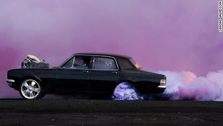 The photographer who found beauty in hot rods