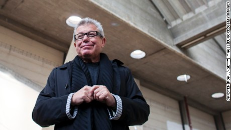 BERLIN, GERMANY - OCTOBER 25:  Architect Daniel Libeskind poses at the construction of the Academy of Jewish Museum on October 25, 2011 in Berlin, Germany. The construction of the academy will be finished in 2012.  (Photo by Carsten Koall/Getty Images)
