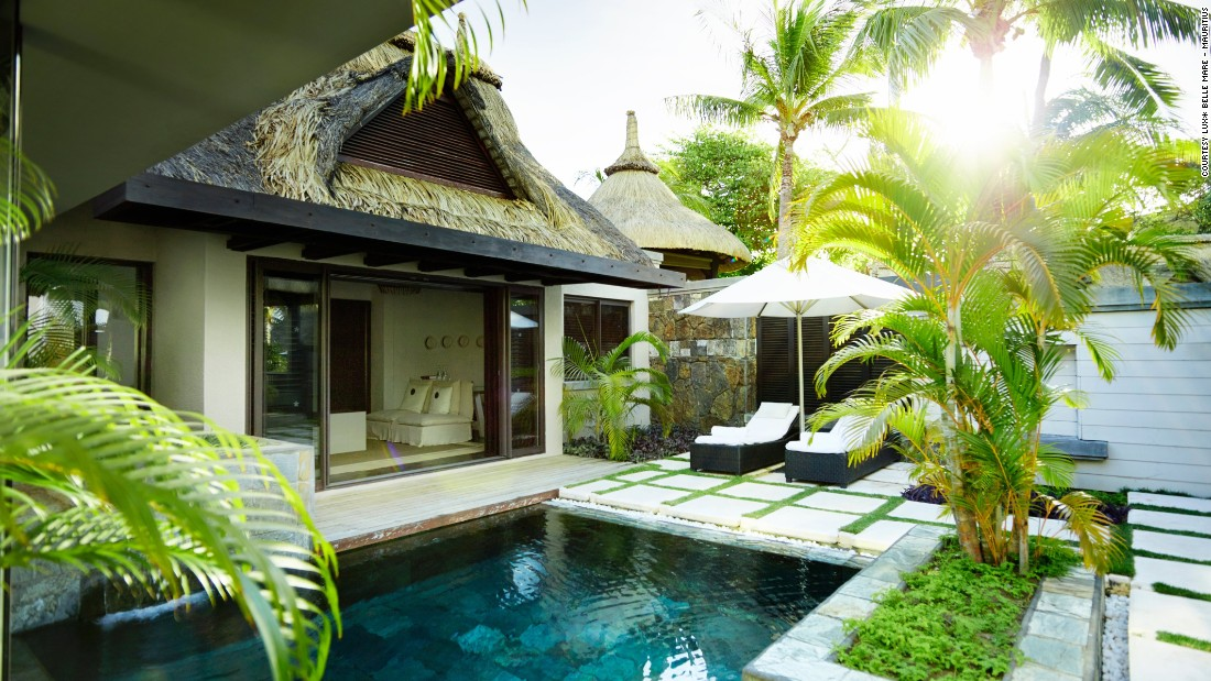 "This <a href=""http://www.luxresorts.com/en/hotel-mauritius/luxbellemare"" target=""_blank"">luxury hotel</a> was revamped by London-based interior designer Kelly Hoppen. It's well-placed for sea views in the small village of Belle Mare."
