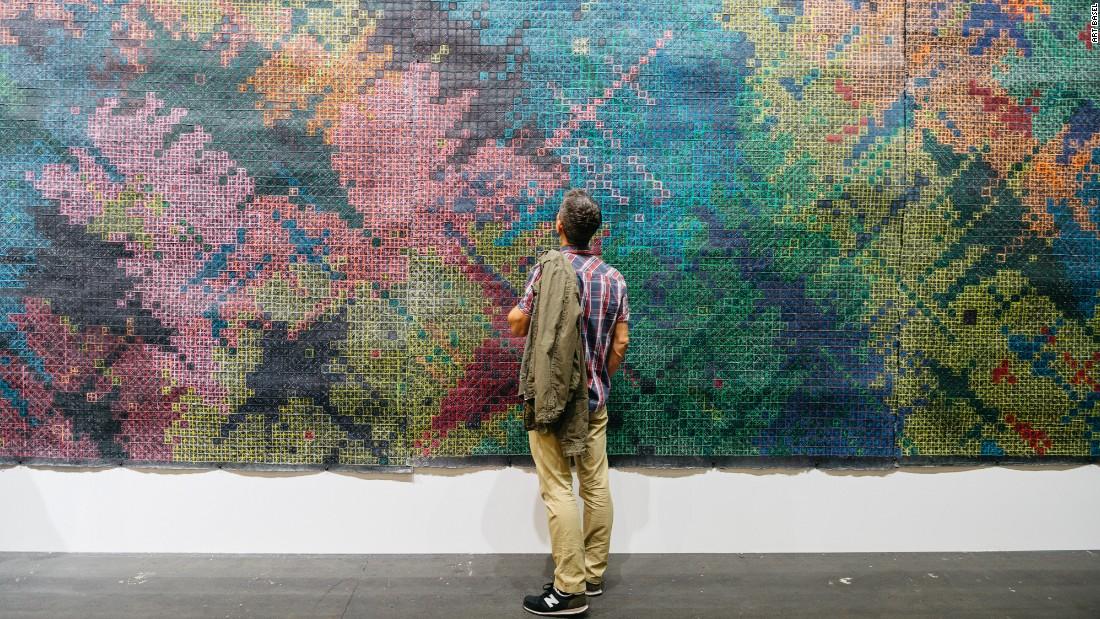 Ding Yi, ShanghART Gallery, Waldburger Wouters
