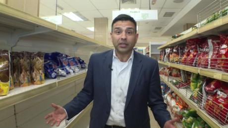 cnnee rafael romo lkl 2 escasez venezuela supermercados vacios_00001822