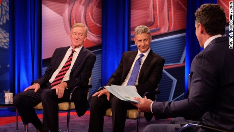 5 takeaways from CNN's Libertarian Party town hall