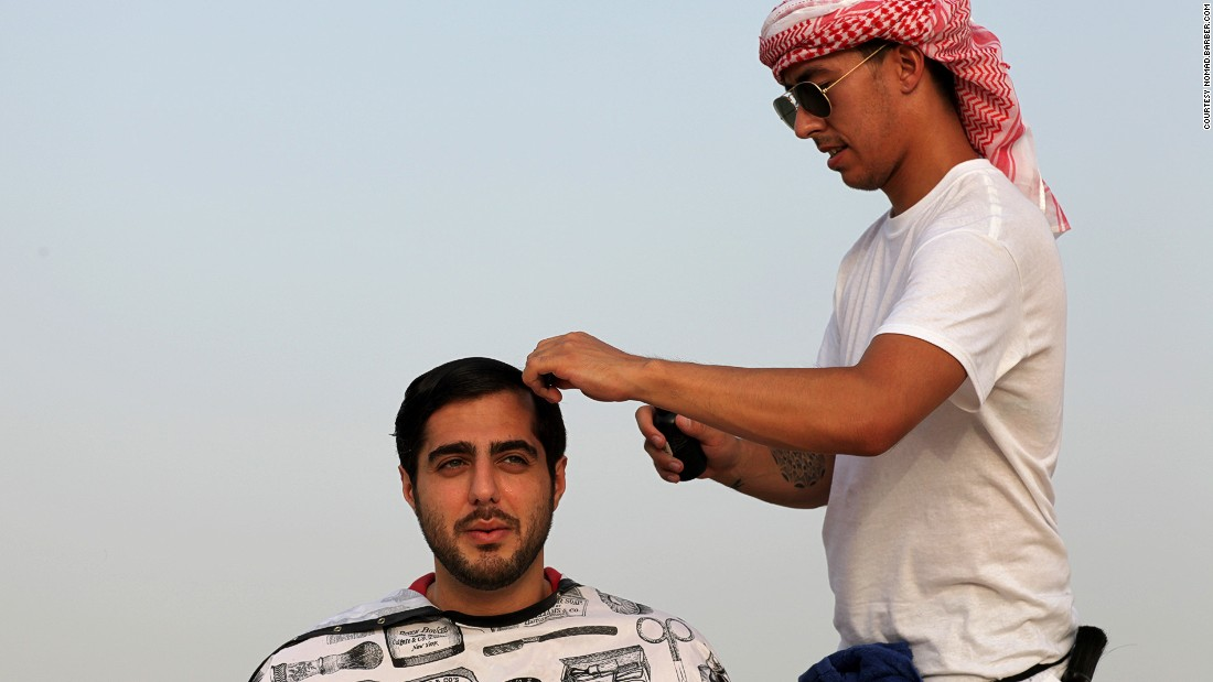He thinks the men in Dubai care more about personal grooming because it pays to look good for career purposes in Dubai.