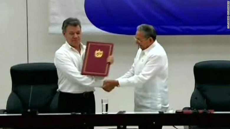 colombia and farc rebels sign ceasefire pact rafael romo_00001606