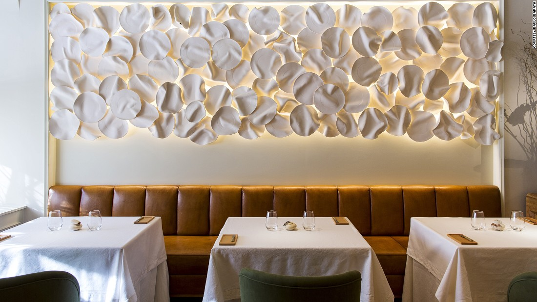 Avillez's Lisbon restaurant Belcanto is the first in Portugal to be awarded two Michelin stars.