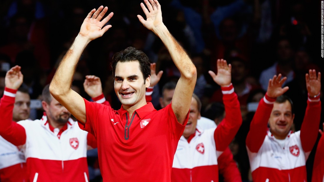 Federer has won the Davis Cup once, helping Switzerland beat France in the 2014 final of the prestigious international team tournament.