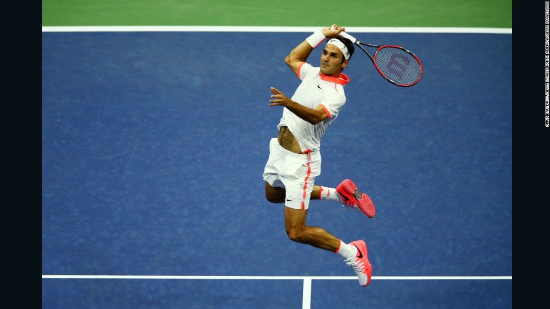 Federer won the U.S. Open five years in a row from 2004 but has not triumphed in New York since -- though he was runner-up in 2009 and 2015.