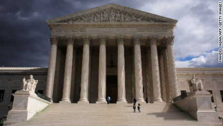What happens when the Supreme Court ties?