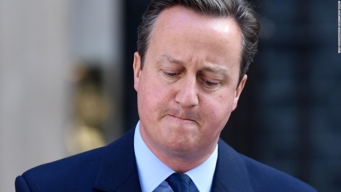 "British Prime Minister David Cameron <a href=""http://www.cnn.com/2016/06/24/politics/david-cameron-resignation-brexit/index.html"" target=""_blank"">announces his resignation</a> on Friday, June 24, after the United Kingdom voted to leave the European Union. Cameron had defiantly championed the cause of the Remain campaign."
