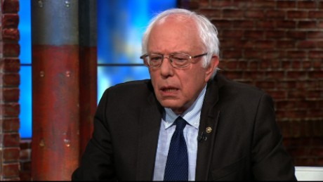 Bernie Sanders vote Hillary Clinton newday_00000000