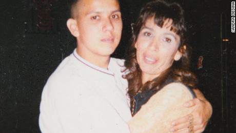 Ruben Rodriguez and his mother Sandra Medina