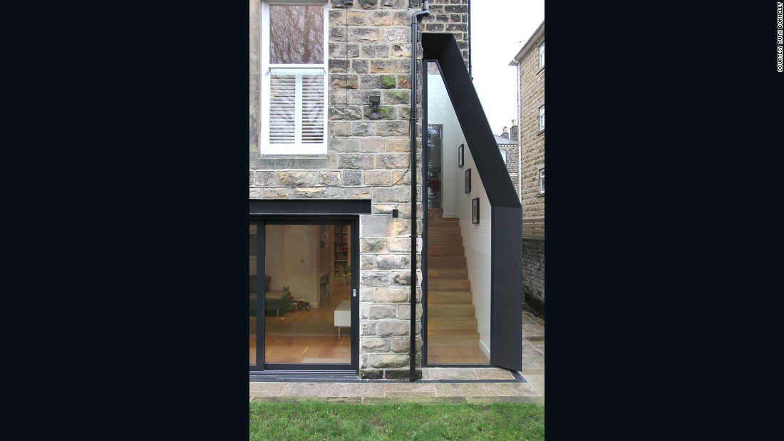 Contemporary Lean-to in Harrogate, Yorkshire (Doma Architects)