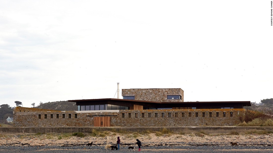 Le Petit Fort in Jersey, Channel Islands (Hudson Architects)