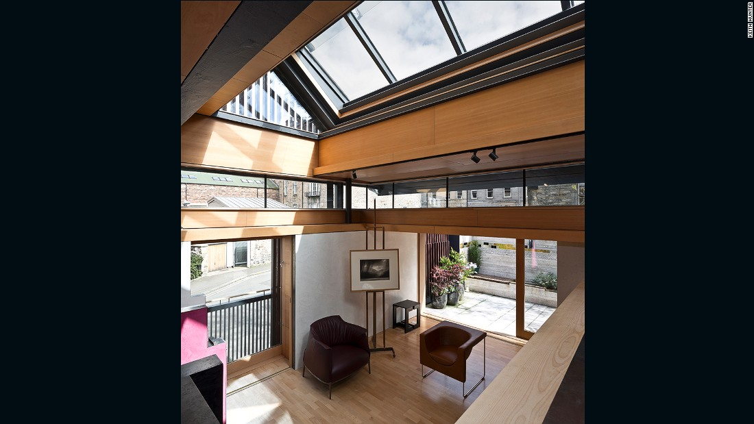 Murphy House in Hart Street, Edinburgh (Richard Murphy Architects)